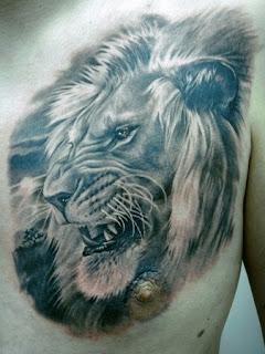 lion tattoo england
