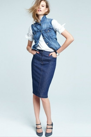 J.Crew Fall Denim Collection 2012-10