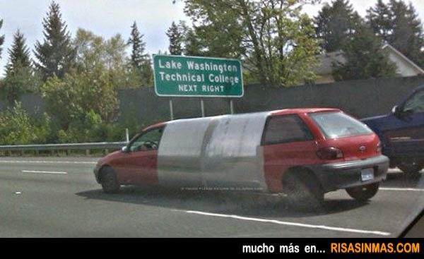 La limusina más cutre del mundo