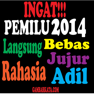 pemilu 2014 animasi dp display picture bbm bergerak partai pemilu 2014