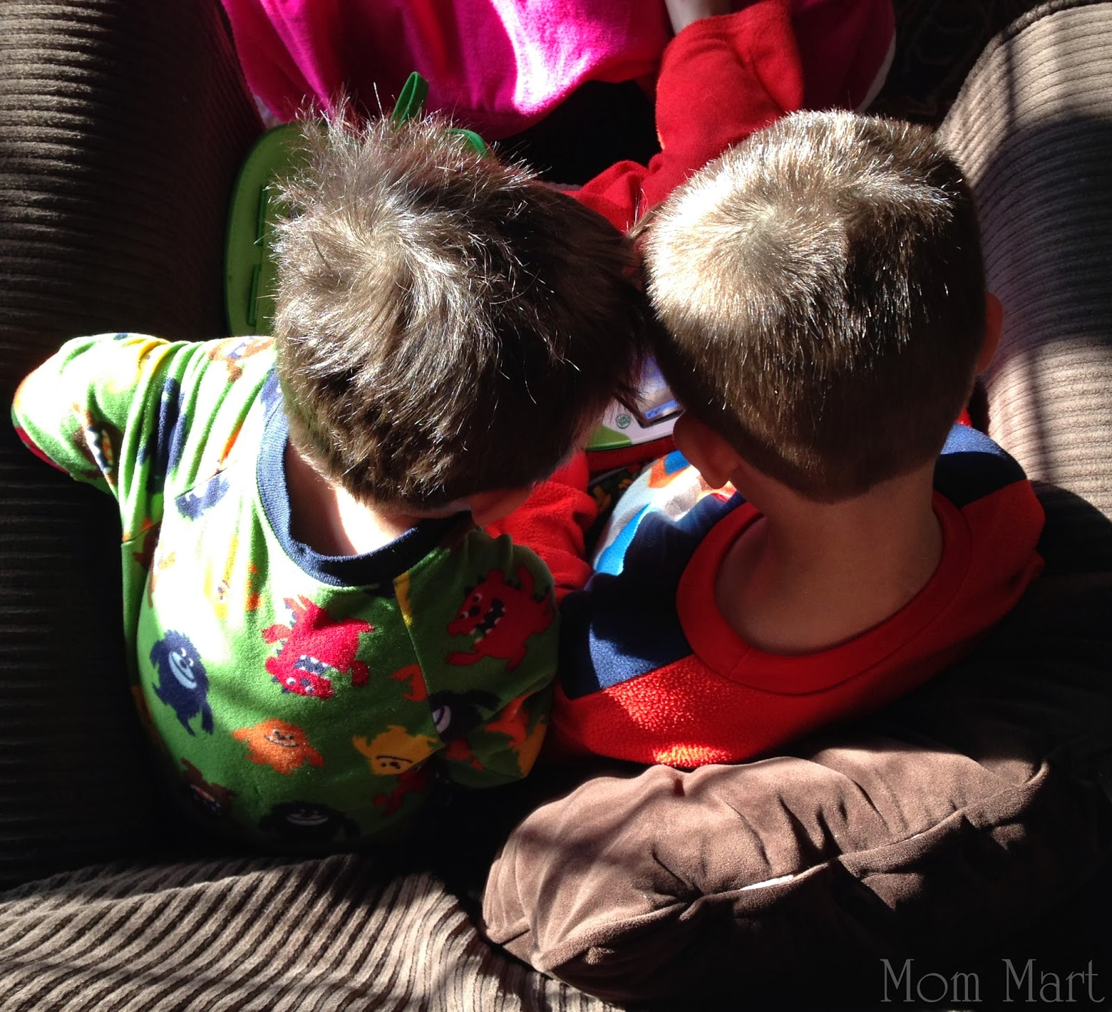 Indoor Time with Children  Winter Break LeapFrog Leapster time