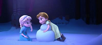 Gambar Elsa dan Anna Frozen Waktu Masih Kecil