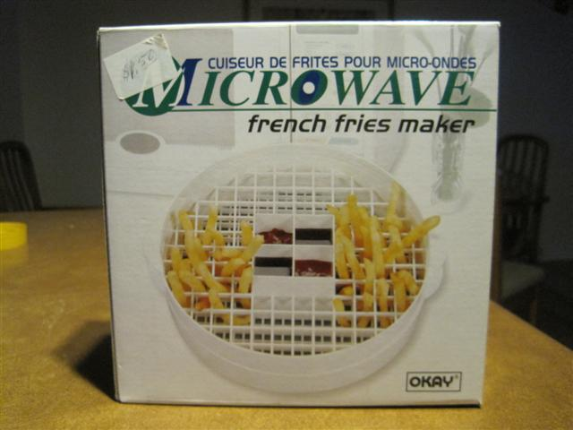 A Microwave French Fries Maker