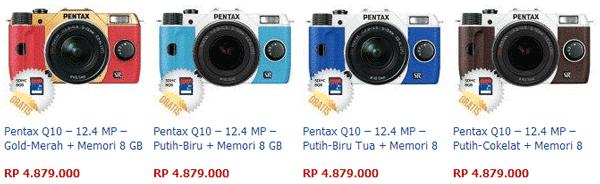 Harga Kamera Pentax Q10