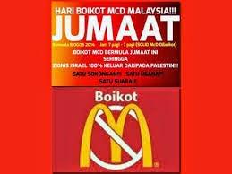 Kempen Hari Boikot McDonald's (MCD)