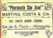 As primeiras pharmacias
