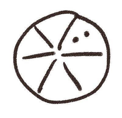 ダンゴムシのイラスト(虫) モノクロ線画