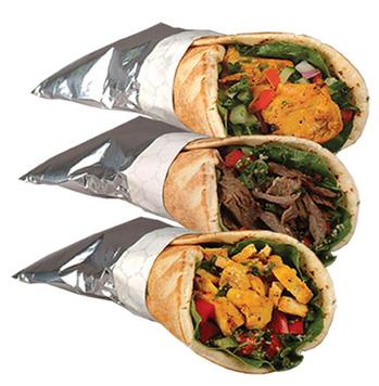 Chicken shawarma roll - photo#25