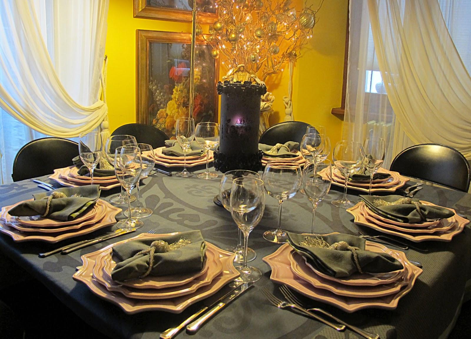 Tentazioni di gusto pranzo di natale 2012 for Tavole di natale