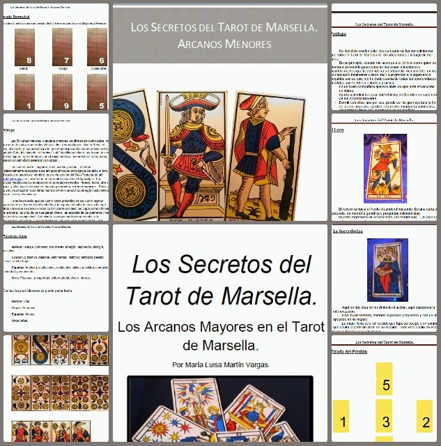 Los Secretos del Tarot de Marsella Collage