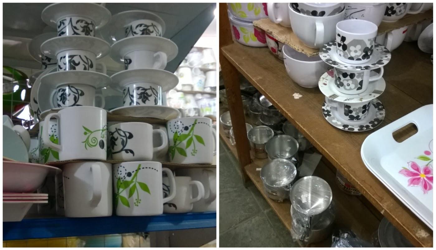xícaras e canecas