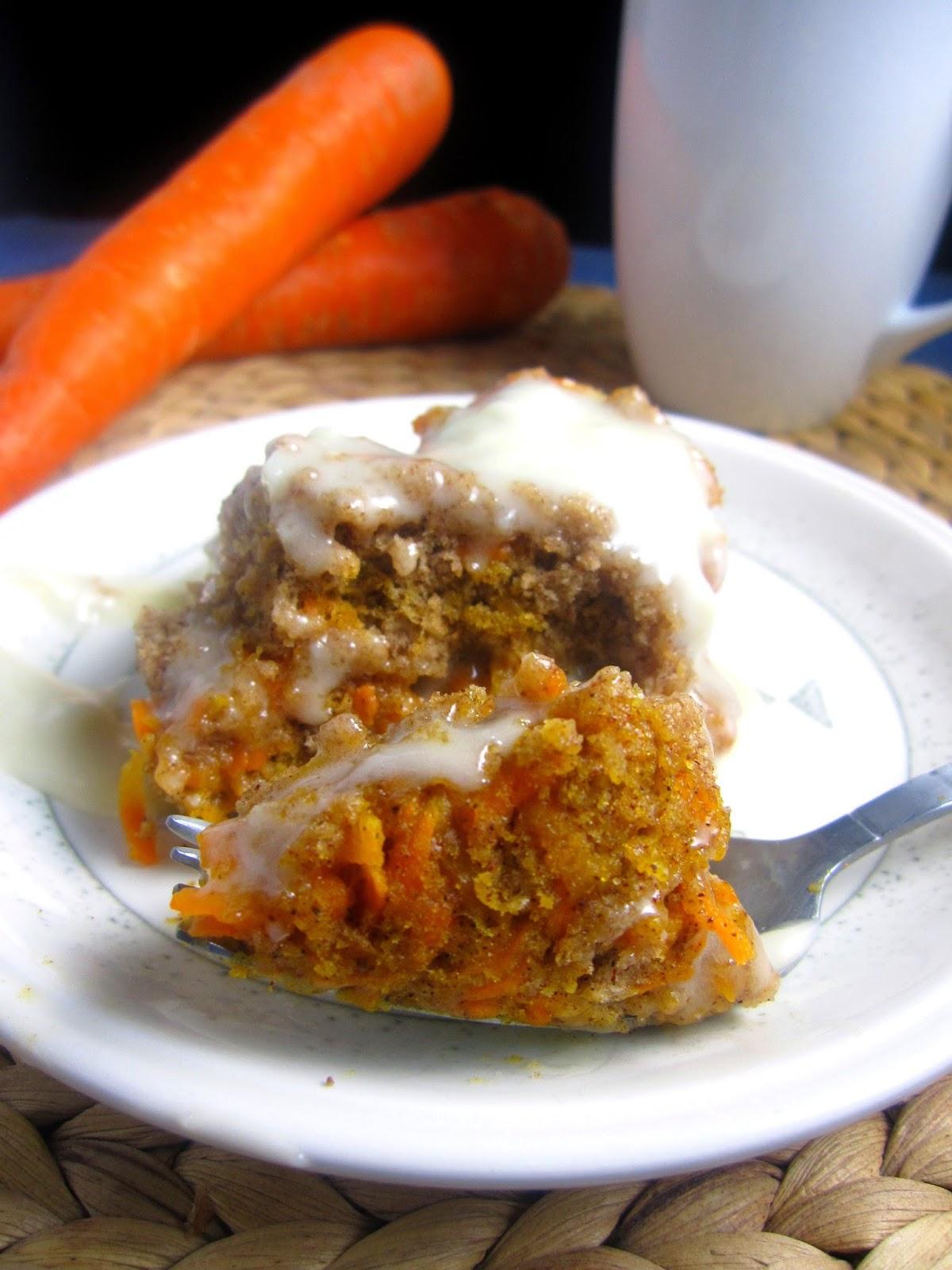 Carrot Cake Mug Cake