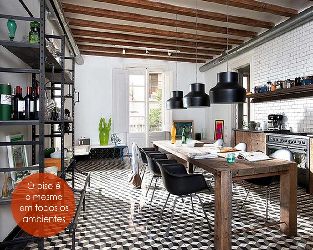 decoracao cozinha flat : decoracao cozinha flat:Construindo Minha Casa Clean: Estilo Industrial Empresta Originalidade