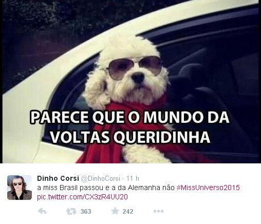 Miss Universo 2015 Miss Brasil e Miss Alemanhã O Mundo da Voltas Twitter