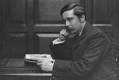 H.G. Wells , c1890