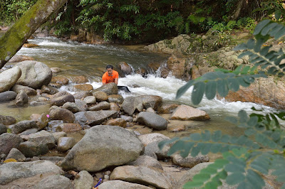 sanctuari ikan kelah sungai chiling