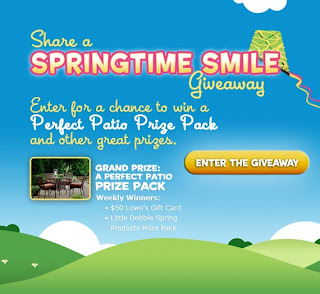Galore: Little Debbie Snacks - Share A Springtime Smile Giveaway