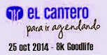 8k Goodlife (cross en grupos, El Cantero MR, San José, 25/oct/2014)