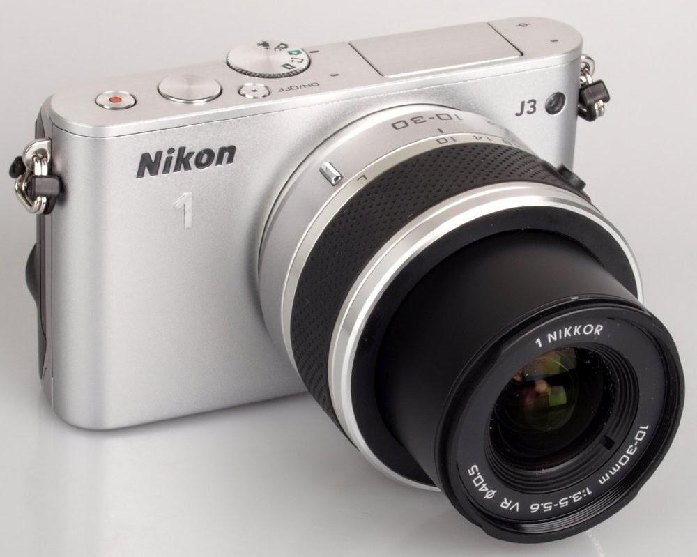 Image result for 1. Kamera Mirrorless Nikon 1 J3