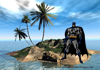 Wallpapers of Batman Dark Knight prepared for action at 3D Island Desktop