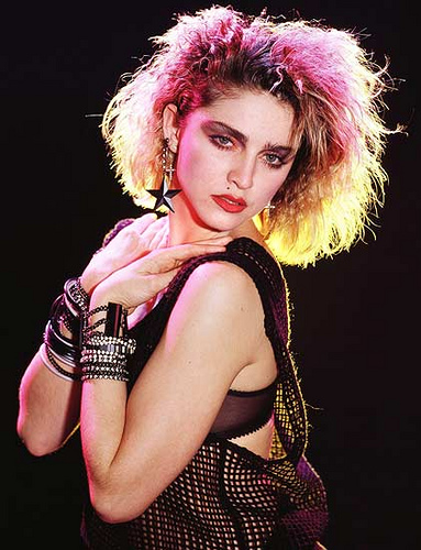 just wanna have fun madonna: