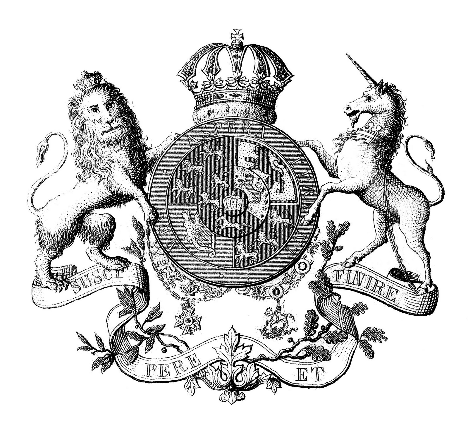 Q Lion Crest Seal Dani e suas histó...