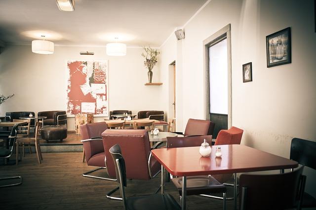 Desain Interior Cafe Sederhana