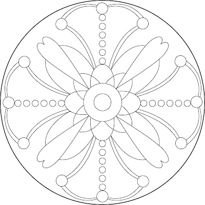 Free Printable Mandalas Coloring Pages Complex