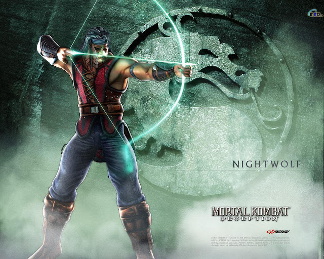 mortal kombat deception midway fighting game