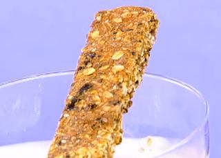 Barrinha de cereal cremosa