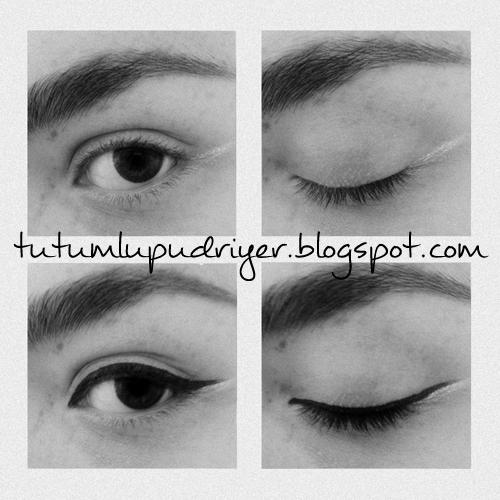 Eyeliner, sürme, aparat DilekEvim Kolayca Eyeliner ekmek in Her Kadnn Bilmesi Gereken Kadnografi: Kuyruklu Bela Eyelinern eitleri