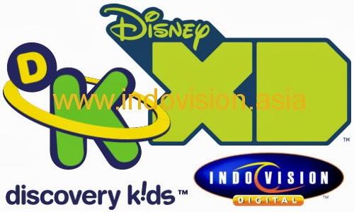 Indovision hadirkan saluran Disney XD dan Discovery Kids.