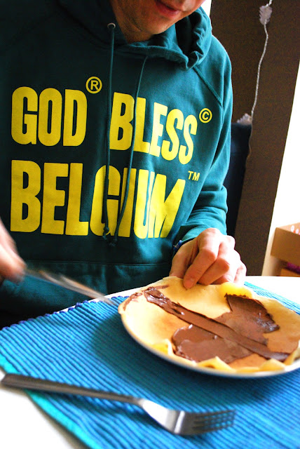 God bless Belgium, pullover with hood