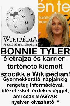 Bonnie Tyler a magyar Wikipédián!