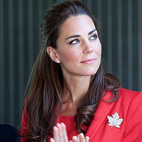 Kate Middleton - Ponytails