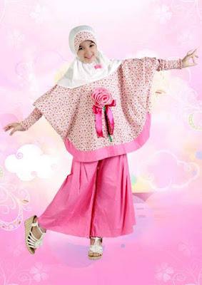 foto gambar baju muslim anak