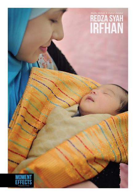 Gambar Majlis Akiqah Anak Irma Hasmie