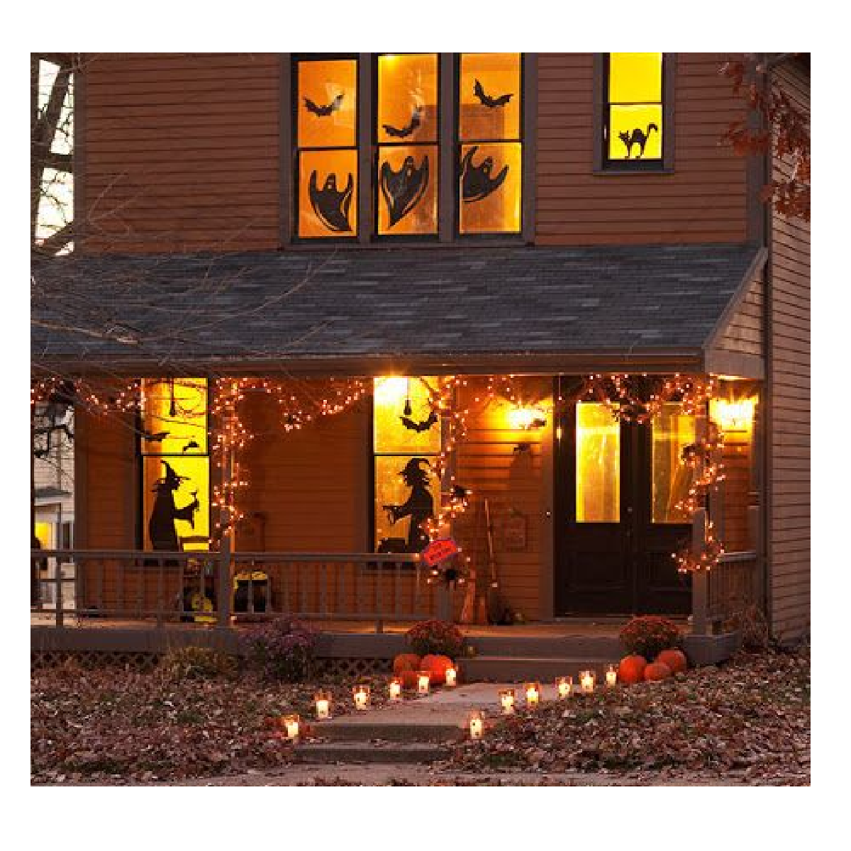 D co maison pour halloween - Maison decoree pour halloween ...