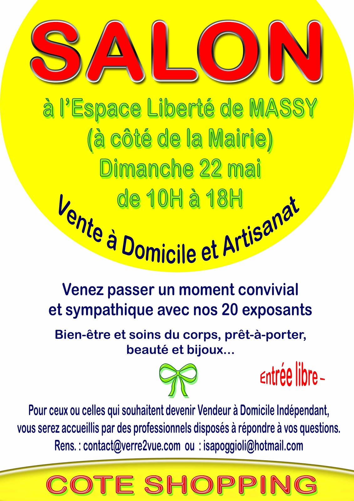 Les ateliers de mylou salon vdi massy dimanche 22 mai for Salon vdi