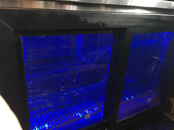 New Perlick Cooler with Sexy Blue Lighting