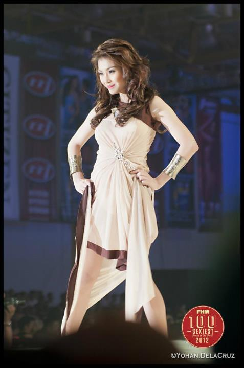 danica torres sexy gown at teh 2012 fhm philippines 100 sexiest victory party 03