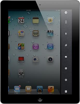 iPad version of IOS 5 published sidebar