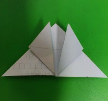 Seni Melipat Kertas Origami Katak Meloncat
