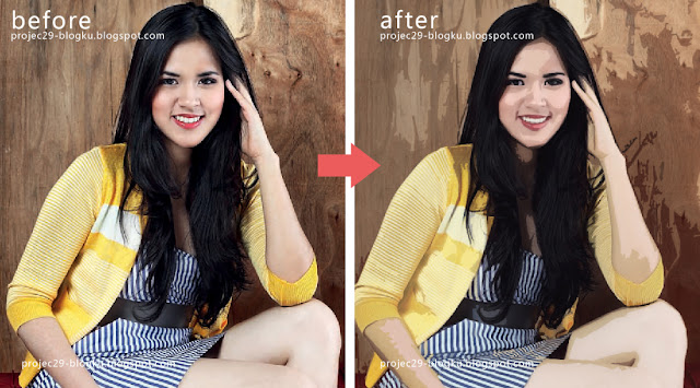 gambar - raisa andriana into cartoon