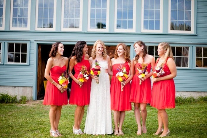 Bridesmaid Dresses For Barn Wedding 13