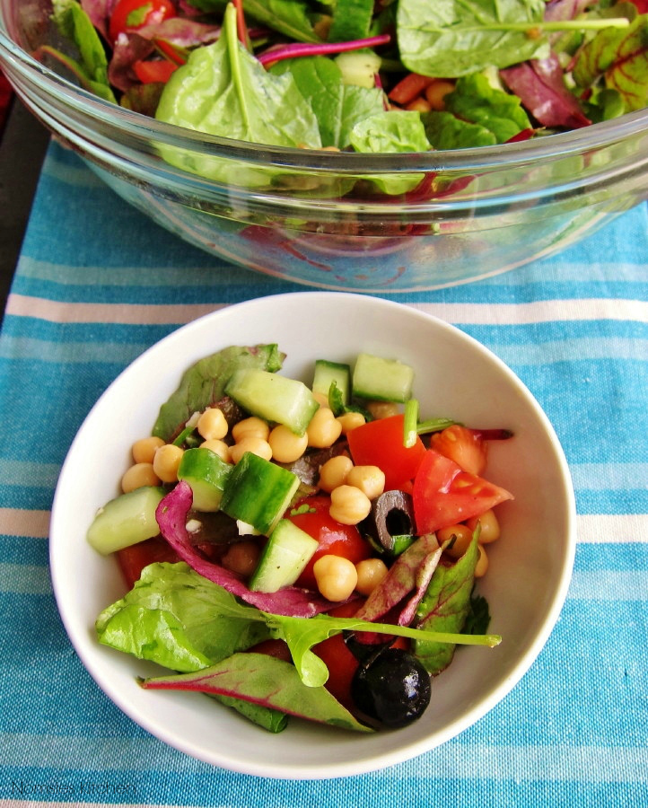 Chickpea Salad Recipe | Nomsies Kitchen