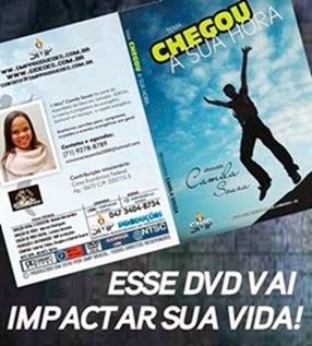 DVD CHEGOU SUA HORA