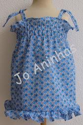 Vestido Praia Azul Flores c/ folho