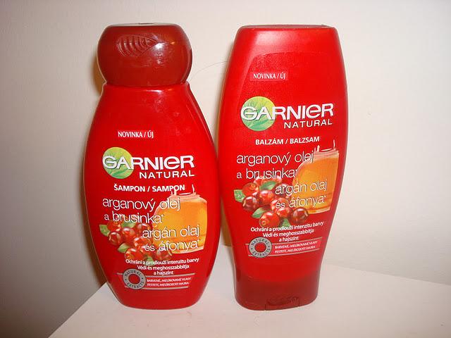 Garnier Argan Oil / Cranberry Shampoo and Conditioner