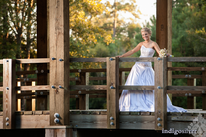 wilmington nc wedding photography | River landing bridal session